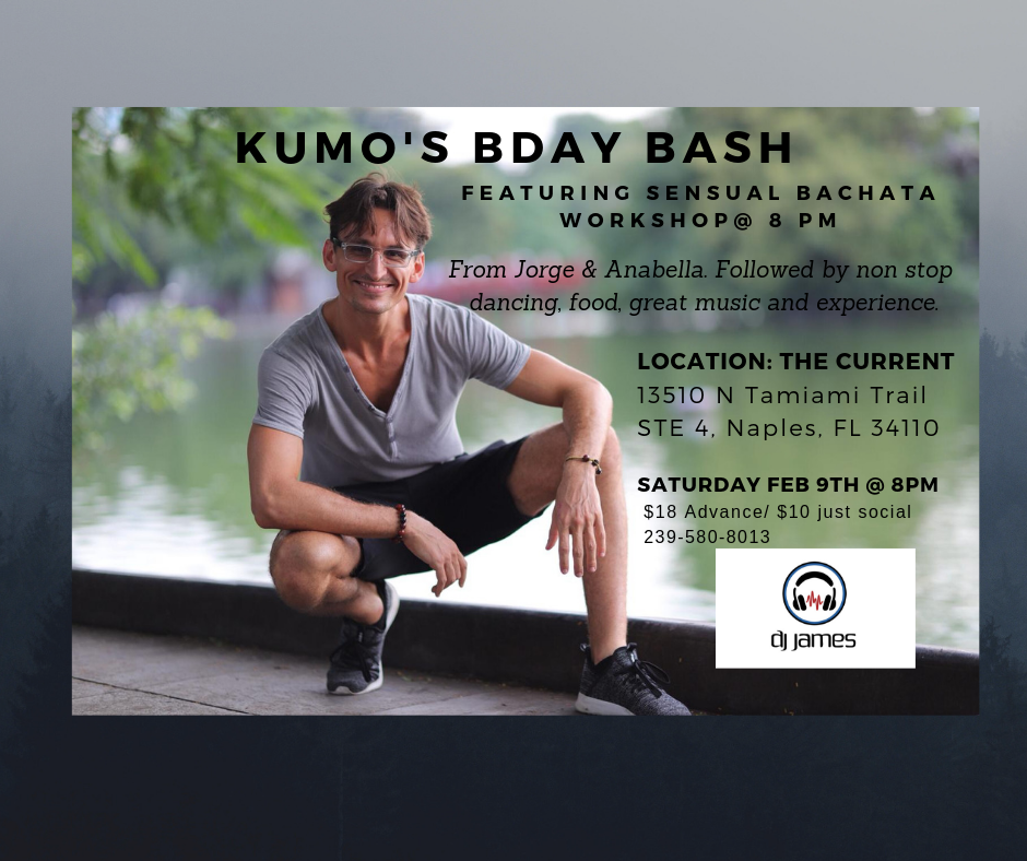 Kumos Bday social @ The Current Naples